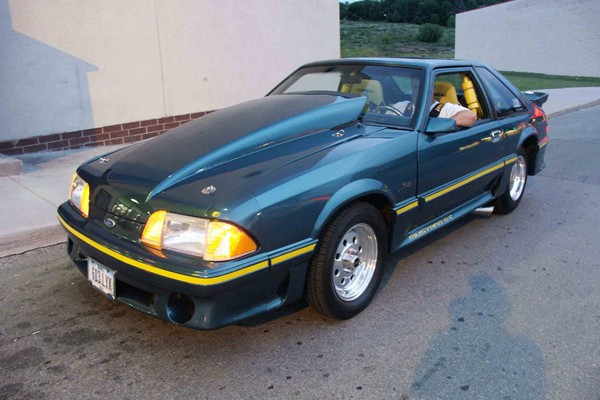 Chuck Gilstrap's 1985 Ford Pro Street Mustang GT