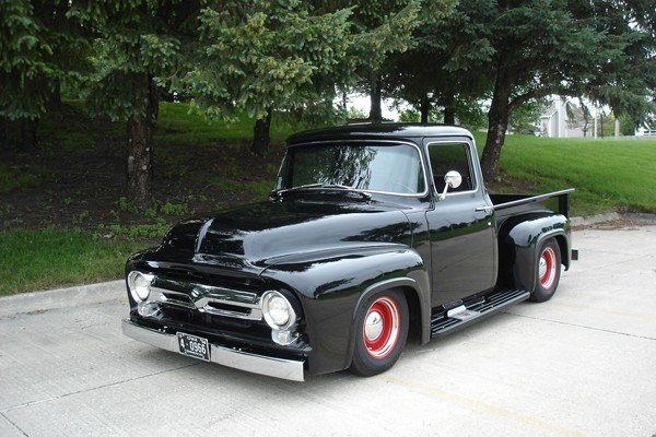 Irene & Alan Strickler's 1956 Ford F100