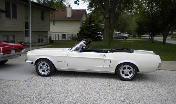 Dee Crane's 1968 Ford Mustang Convertible