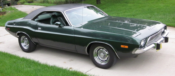 Mark Zeliadt's 1974 Dodge Challenger