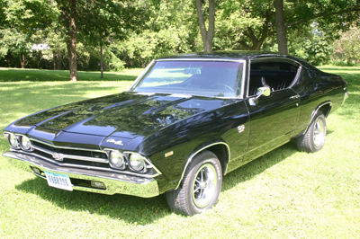 Janet and Patrick Meade's 1969 Chevrolet Chevelle