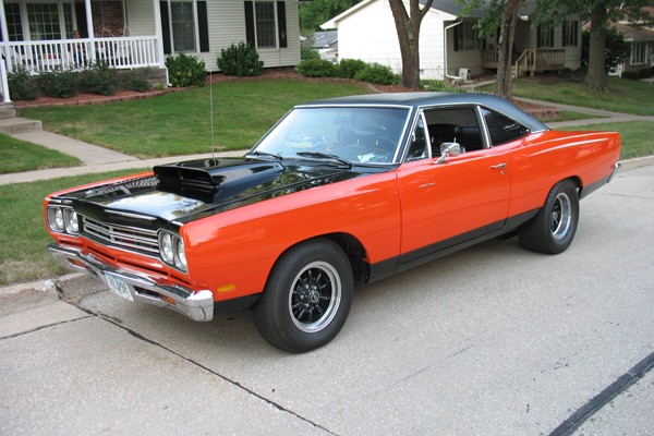 Tony James's 1969 Plymouth Road Runner