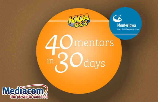 KIOA's 40 Mentors in 30 Days
