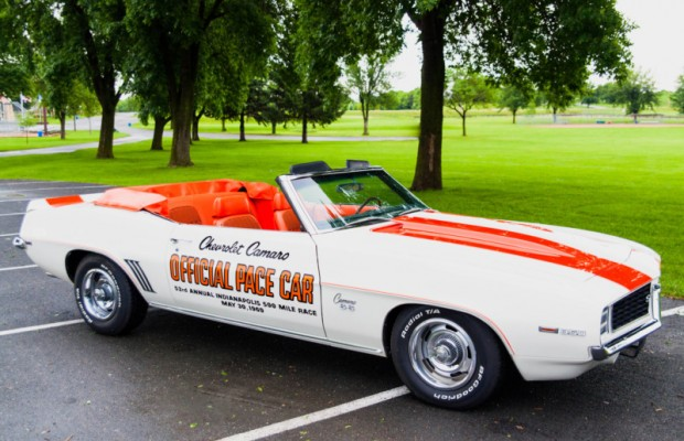 Dave and Sue Heath's 1969 Chevy Camaro Z-11 Indy Pace Car