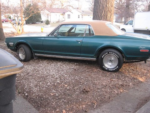 Drew Ruckle's 1968 Mercury Cougar