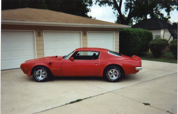 Dave Kendall's 1973 Trans Am