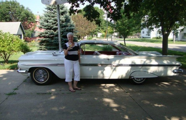 Shirley Hass's 1959 Chevy Impala