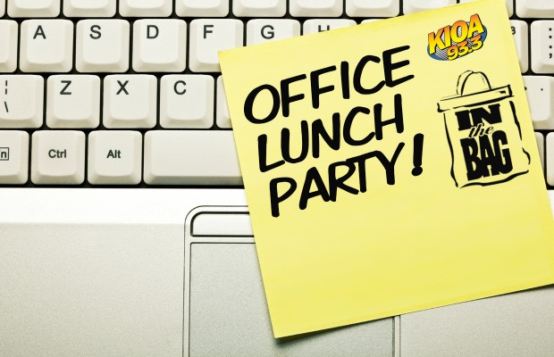 KIOA's Office Lunch Party | 93.3 KIOA
