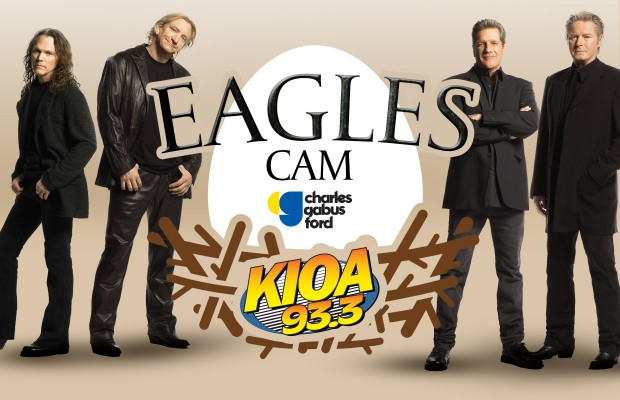 KIOA's Eagles Cam – Presented by Charles Gabus Ford